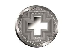 5 Gulden Nederlandse Antillen 2017 Proof zilver Rode Kruis Voorverkoop*