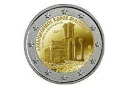2 euro Griekenland 2017 Archeologische site van Phillippi Unc