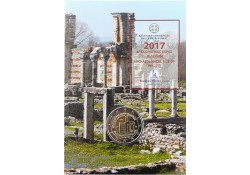 2 euro Griekenland 2017 Archeologische site van Phillippi Bu in coincard