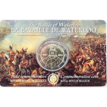2 Euro België 2015 Waterloo UNIEK!!!