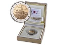 2 Euro Vaticaan 2017 100 jaar na verschijning Fatima Proof