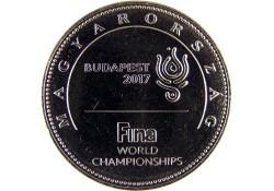 Hongarije 2017 1 Forint Unc Fifa World Championships Budapest 2017
