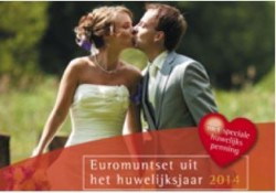 Huwelijksset 2014 Met penning