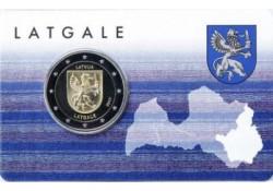 2 Euro Letland 2017 Latgale in coincard