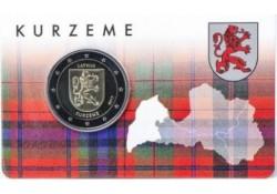 2 Euro Letland 2017 Kurzeme in coincard