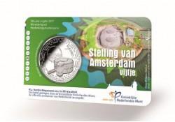 Nederland 2017 5 Euro De Stelling van Amsterdam Bu in coincard Voorverkoop*