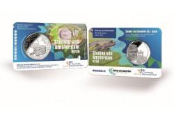Nederland 2017 5 Euro De Stelling van Amsterdam Unc in coincard Voorverkoop*