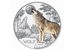 Oostenrijk 2017 3 euro Wolf Unc