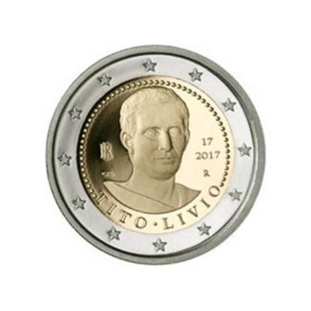 2 Euro Italië 2017 Tito Livio Unc Voorverkoop*