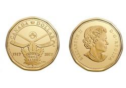 Km+??? Canada 1 Dollar 2017 Unc Toronto Maple Leafes