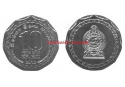 Sri Lanka 2016 10 Rupees Unc