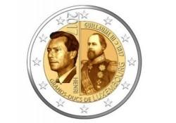 2 Euro Luxemburg 2017 Willlem III Unc Voorverkoop*