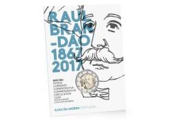 2 euro Portugal 2017 Raul Brandoa Fdc