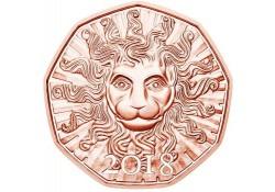 5 Euro Oostenrijk 2018 Leeuwenkracht Unc