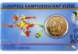 Nederland 2000 5 Gulden EK Unc in concard