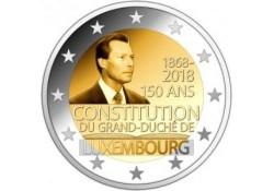 2 Euro Luxemburg 2018 150 jaar Grondwet Unc Voorverkoop*