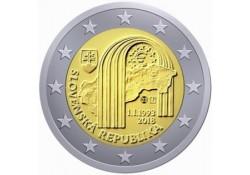 2 Euro Slowakije 2018 25 jaar Slowaakse Republiek unc Voorverkoop*