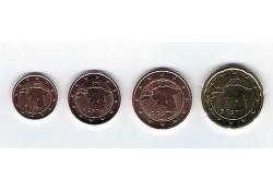 Serie Estland 2017 1-2-5-20 cent