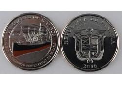 Panama 2016 1 Balboa Unc 1914 Panama Kanaal