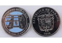 Panama 2016 1 Balboa Unc 2007/2016 Panama Kanaal