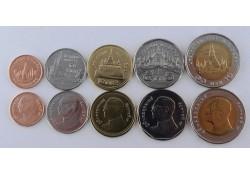 Thailand 2017 5 munten Unc