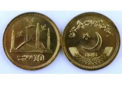 Pakistan 2016 10 Roepie Unc
