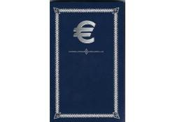 Euromapje inclusief 8 capsules voor de 8 euromunten.