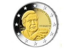 2 Euro Duitsland 2018 A Helmut Schmidt Unc