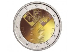 2 Euro Estland 2018 Baltische staten Unc Voorverkoop*