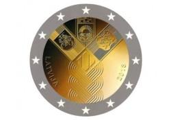 2 Euro Letland 2018 Baltische staten Unc Voorverkoop*