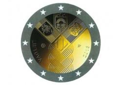 2 Euro Lithouwen 2018 Unc Baltische staten Voorverkoop*