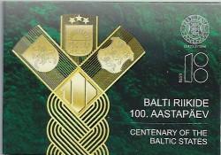 2 Euro Estland 2018 Baltische staten in Coincard