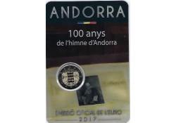 2 Euro Andorra 2017 Volkslied in Blister