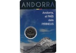 2 Euro Andorra 2017 land van Pyreneen in Blister