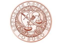 10 Euro Oostenrijk 2018  Engel Rapahel Unc Voorverkoop*