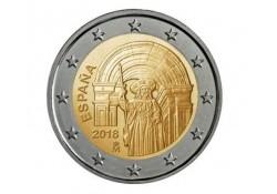 2 Euro Spanje 2018 Santiago de Compostela Unc Voorverkoop*