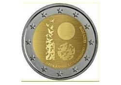 2 Euro Estland 2018 100 jaar republiek Unc