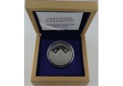 30 Euro Slovenië 2011 Zilver proof 20 jaar onafhankelijkheid