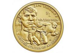 USA 1 dollar 2018 P Native...