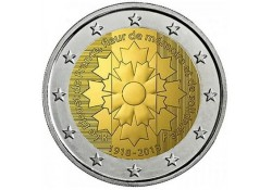 Frankrijk 2018 2 euro Korenbloem Unc