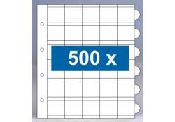 500 x 30-vaks populair muntbladen zonder schutbladen