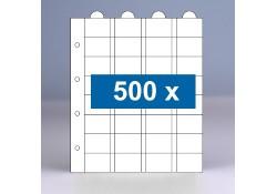 500 x 32-vaks populair muntbladen zonder schutbladen