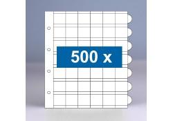 500 x 42-vaks populair muntbladen zonder schutbladen