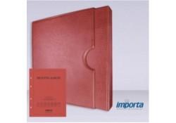 Band incl. Cassette POPULAIR Rood zonder goudopdruk met rood voorblad