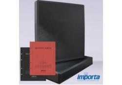 Band incl. Cassette POPULAIR, Zwart zonder goudopdruk met rood & zwart voorblad