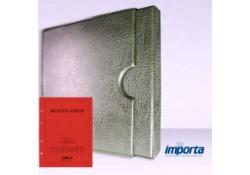 Band incl. Cassette POPULAIR Groen zonder goudopdruk met rood voorblad