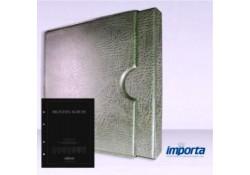 Band incl. Cassette POPULAIR Groen zonder goudopdruk met zwart voorblad