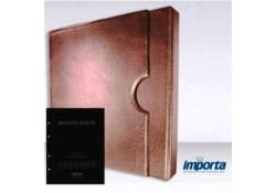 Band incl. Cassette Populair Bruin zonder goudopdruk met zwart voorblad