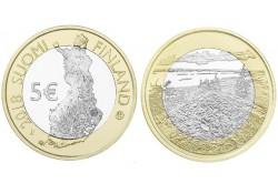Finland 2018 5 euro Unc Natuurlandschap Koli