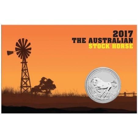 Australië 2017 1 Dollar Stock Horse 1 ounce zilver